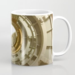 Gray's Harbor Lighthouse Stairwell Spiral Architecture Washington Nautical Coastal Coffee Mug