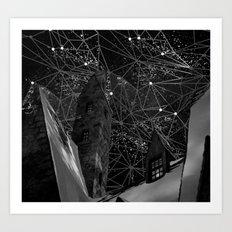 geometry of life Art Print