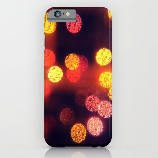 Orange Lights iPhone & iPod Case