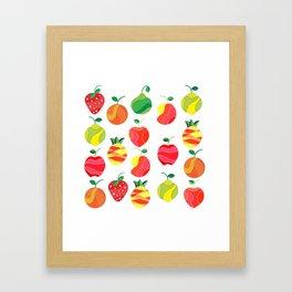 Fruit extravaganza Framed Art Print