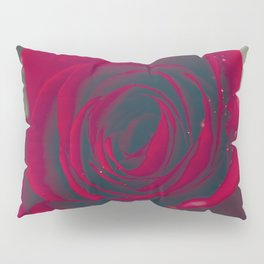 Red Rose Floral Bliss Pillow Sham