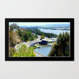 West Tamar Highway Launceston Tasmania Australia Canvas Print