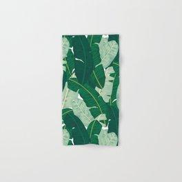 Classic Banana Leaves in Palm Springs Green Hand & Bath Towel