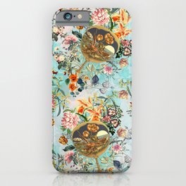 Floral and Lobster iPhone Case