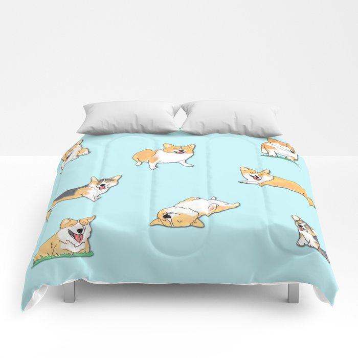 Corgi Comforters By Okayleigh Society6