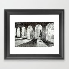 Fingerprint - Arcades Framed Art Print