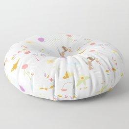 Princess Basics - Blue Floor Pillow