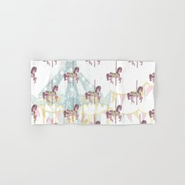 CAROUSEL Pop Art Hand & Bath Towel