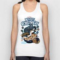 kaiju Tank Tops featuring Kaiju Crunch by Matt Dearden