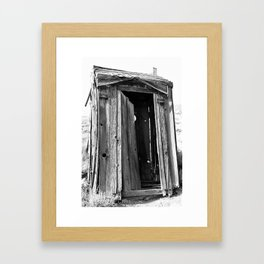 Bodie, Ca Series 1 Framed Art Print