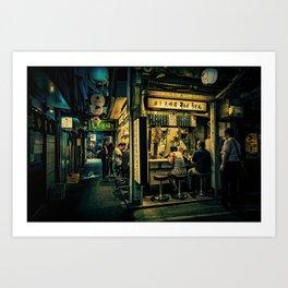 Late Night Scene/ Anthony Presley Photo Print Art Print