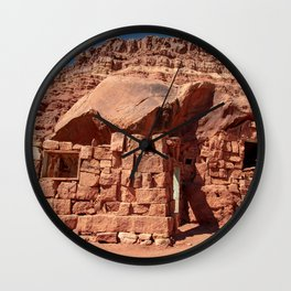 Cliff_Dwellers Stone_House - I Wall Clock