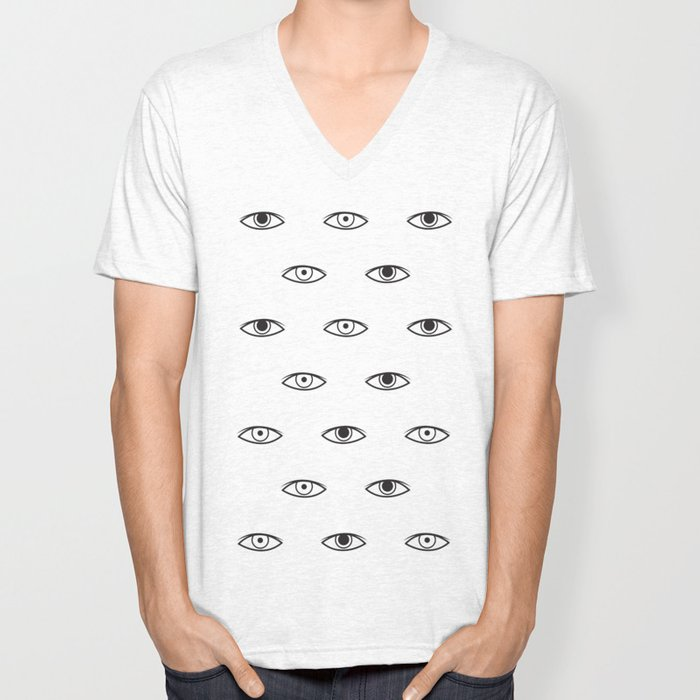 Eyes - David Bowie Unisex V-Neck