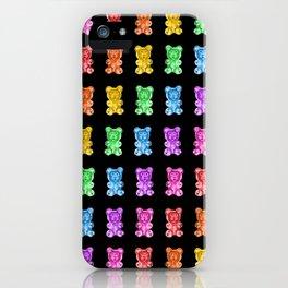 Rainbow Gummy Bears iPhone Case