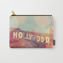 Hollywood Sign, Los Angeles, California - Photograph Carry-All Pouch