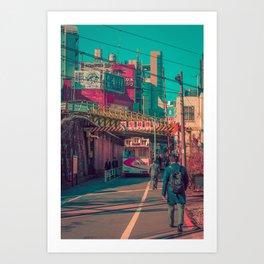 TOKYO CITY 05 Art Print