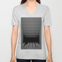 3D Z-DEPTH Unisex V-Neck