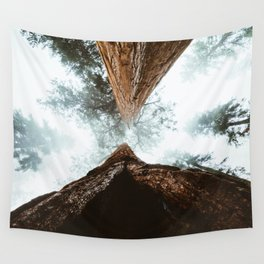 Stand in Awe of the Giant Forest Wall Tapestry