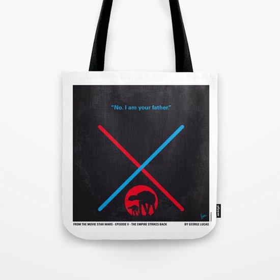No155 My STAR Episode V The Empire Strikes Back WARS minimal movie poster Tote Bag