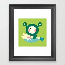 Shrekmon Framed Art Print