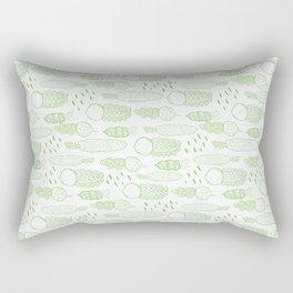 Fun Veggies Rectangular Pillow