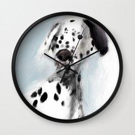 Dannie Blue Wall Clock