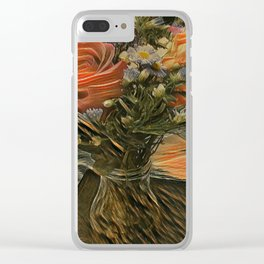 Country Satin Clear iPhone Case