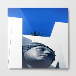 Hidden Lady of Nice One Metal Print