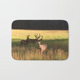 Bucks in the Meadow Bath Mat