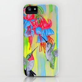 J Humming Bird iPhone Case