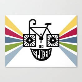 SO Spoked Canvas Print