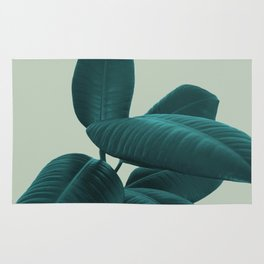 Ficus Elastica #8 #GreenLily #decor #art #society6 Rug
