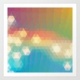 Lights and Colors Art Print