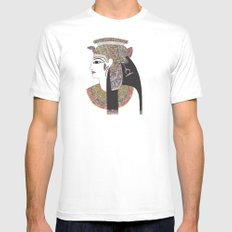 EGYPTIAN GODDESS Mens Fitted Tee 2X-LARGE White