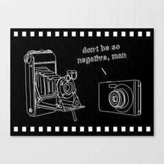 Negativity Canvas Print
