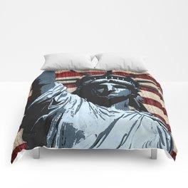 Liberty Flag Comforters