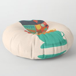 Morning Owl Floor Pillow
