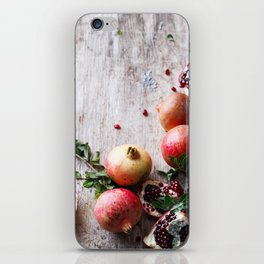 Pomegranates iPhone Skin