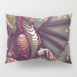Mending the Dragon Pillow Sham