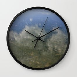 Sky and Sea Wall Clock