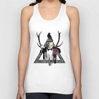 death Tank Tops featuring Death by Repulp