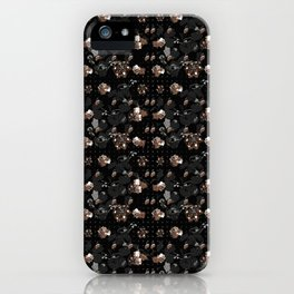 Floral series - Goldy iPhone Case