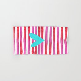 Soulmates Lines and Hearts Hand & Bath Towel