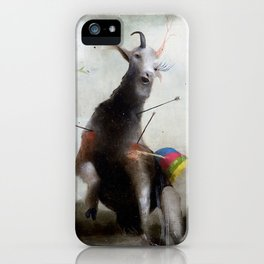 the golden fawn iPhone Case