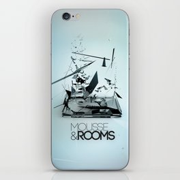 Mousse & Rooms iPhone Skin