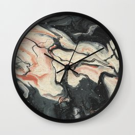 Koi Pond II Wall Clock