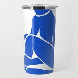 blue nude 2 Travel Mug