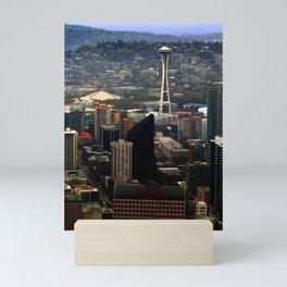 Seattle Space Needle Mini Art Print