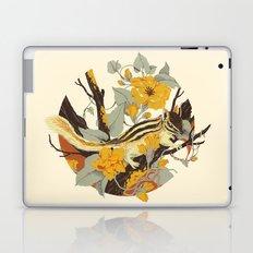 Chipmunk & Morning Glory Laptop & iPad Skin