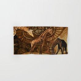 Three Giraffes Hand & Bath Towel